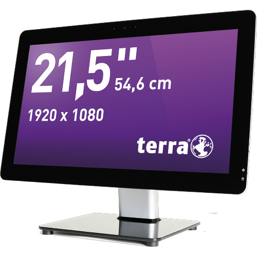 Foto: Terra All-In-One-PC 2211 3/4 Ansicht